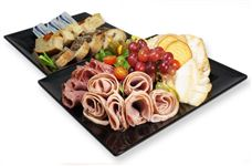 International Breakfast meat and cheese platter (serves 6)