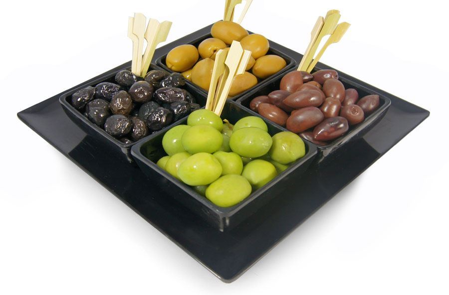 Olives selection (pitted)