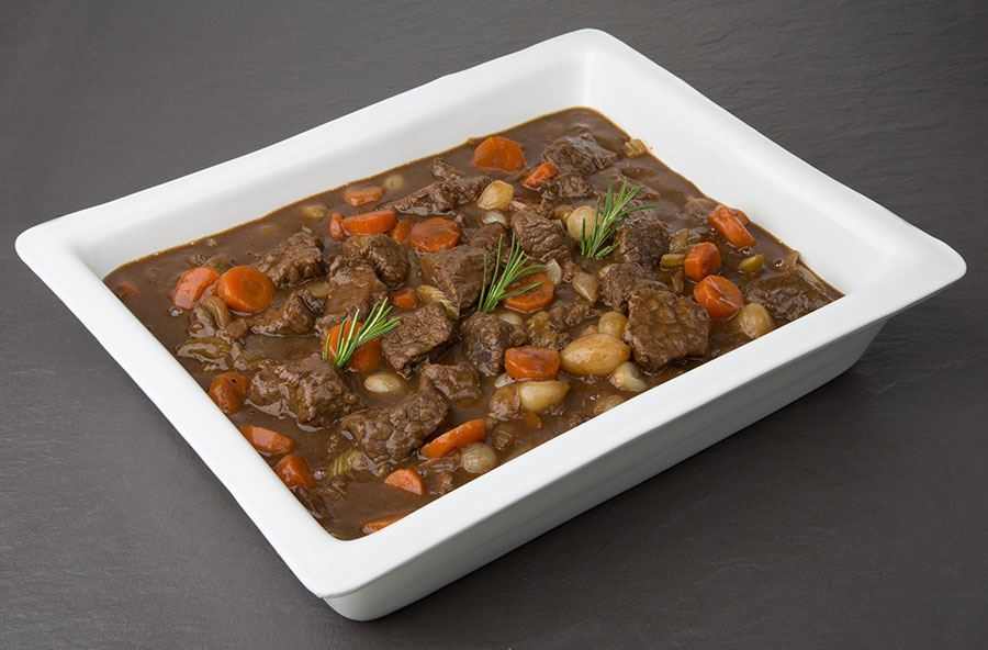 Classic Beef casserole with rice (serves 8 people)