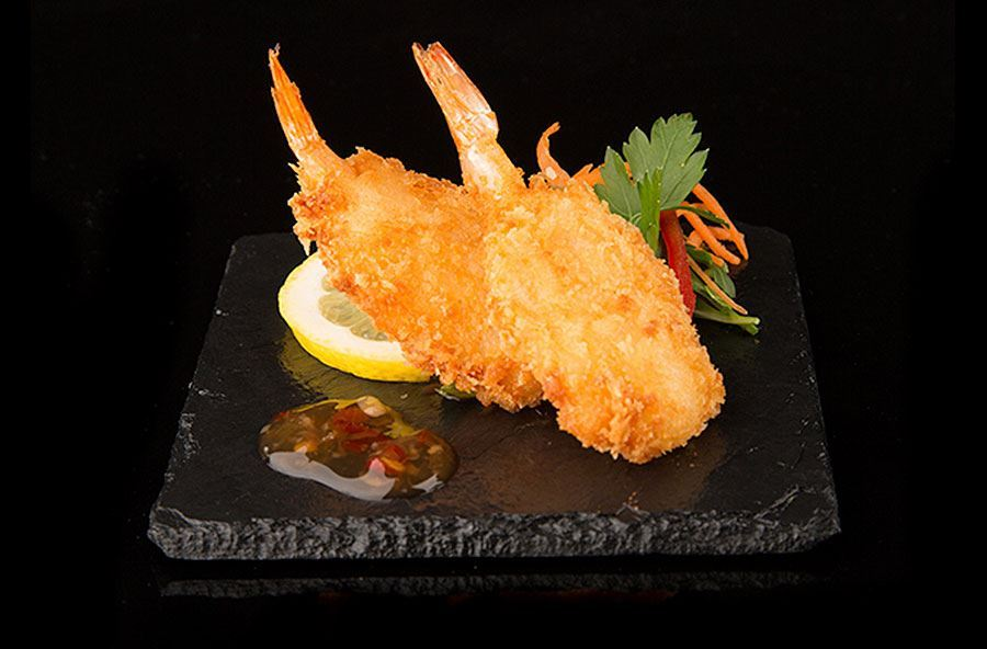 Butterfly prawns with sweet chilli dip (2)