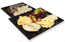 Deluxe breakfast cheese platter (serves 6) V