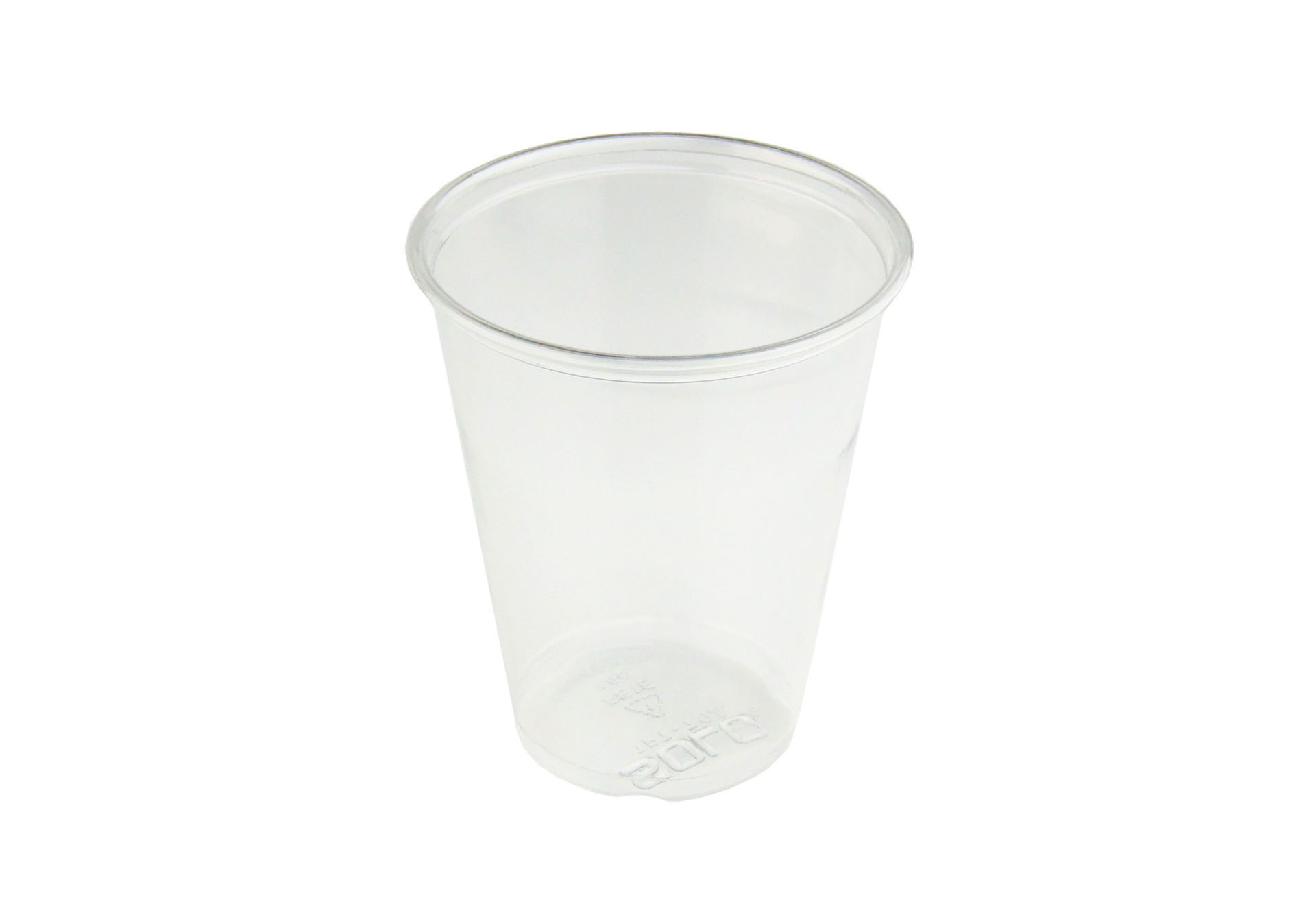 Clear disposable cups