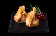 Cranberry and brie wontons (2)