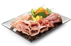 International breakfast meat platter (serves 6)