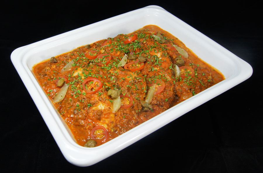 Tuna loin Provencal with saffron rice (serves 8 people)